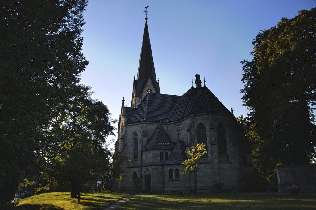 Dorfkirche Rückansicht