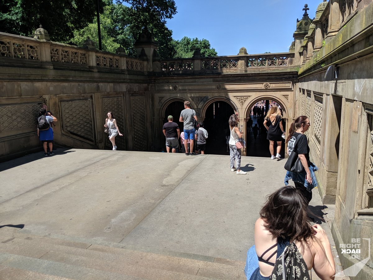 Central Park - The Mall