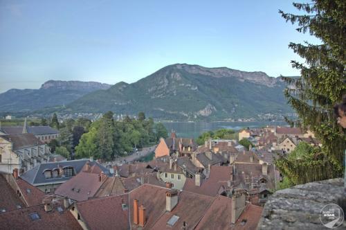 Blick von Chateau in Annecy