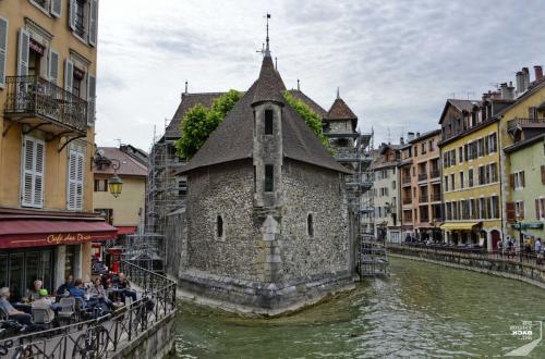 Annecy Fluss Burg