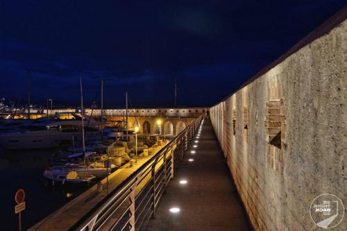 Antibes Stadtmauer