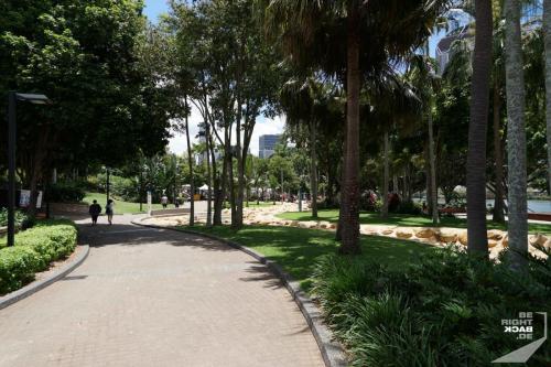 Brisbane Spaziergang
