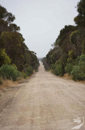 Landstraße auf Kangaroo Island