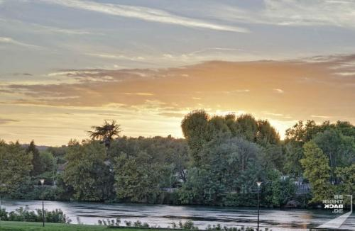 Avignon Flusspanorama