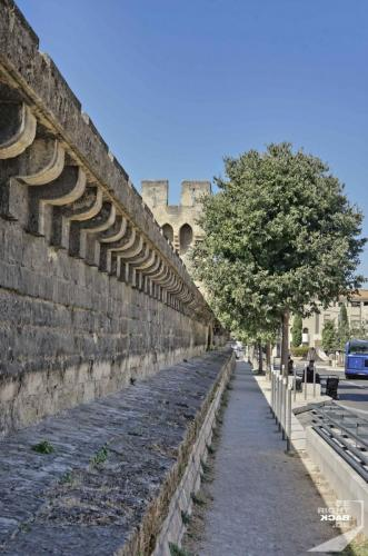 Avignon Stadtmauer
