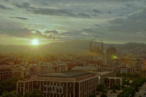 Barcelona Sundown