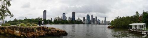 Brisbane Sicht vom Park
