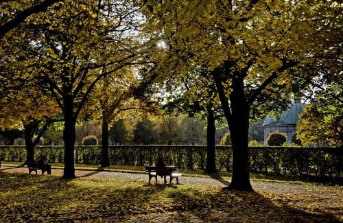 Hofgarten im Herbst