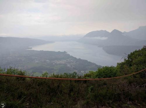 Erster Blick auf Lac D'Annecy