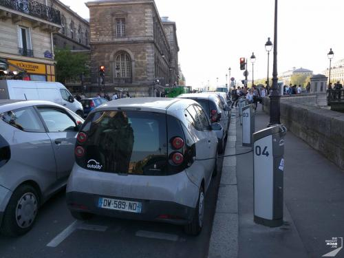 Paris - Elektroautos