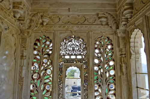 Udaipur City Palace Fenster