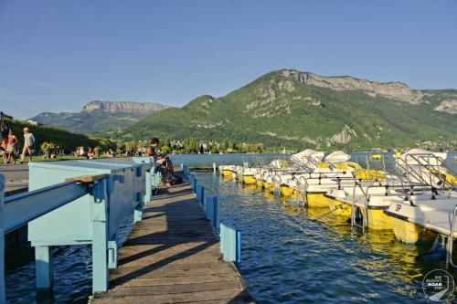 Lac d'Annecy Tretbootverleih