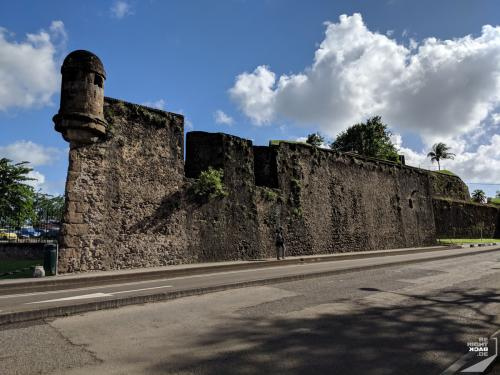 Martinique Fort in Fort de France