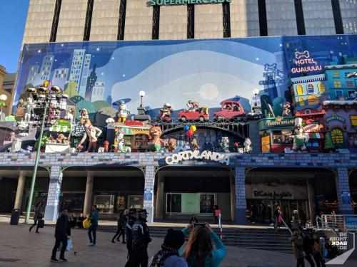 Cortylandia in Madrid