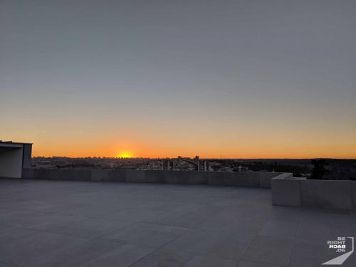 Sonnenuntergang in Madrid