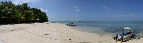Pulau Mabul Beach Pano
