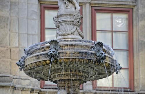 Wien Brunnen an der Oper