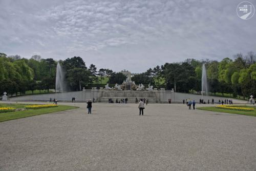 Wien Schönbrunn Brunnen