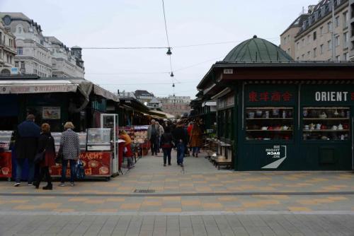 Wien Naschmarkt Zwischenstück