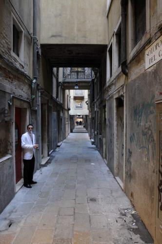 Auch in Venedig wird geraucht