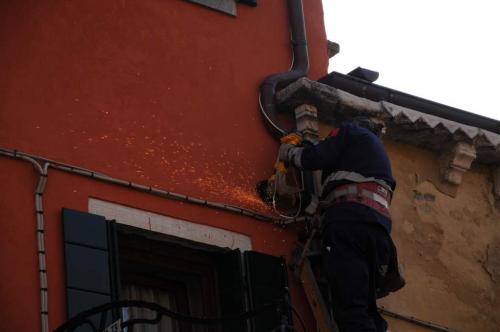 Renovierung in Venedig