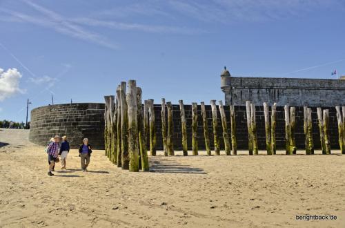 Bretagne Saint Malo Pfähle