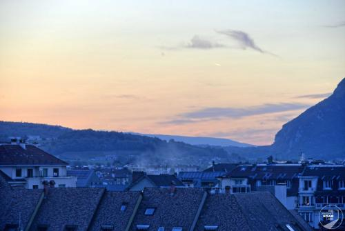 Annecy zur blauen Stunde