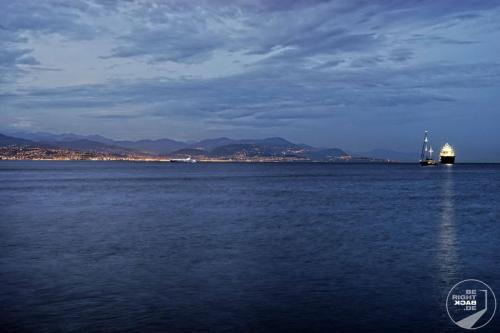 Antibes Blick nach Nizza