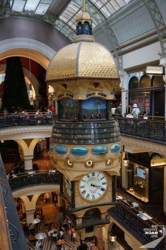Queen Victoria Building Uhr