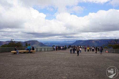 Aussichtsplattform Blue Mountains