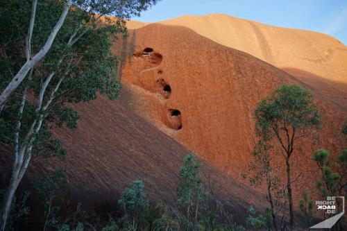 Uluru Fels