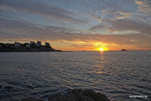 Bretagne Dinard Sundown