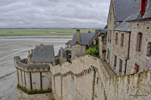 Mont St Michel Mauer