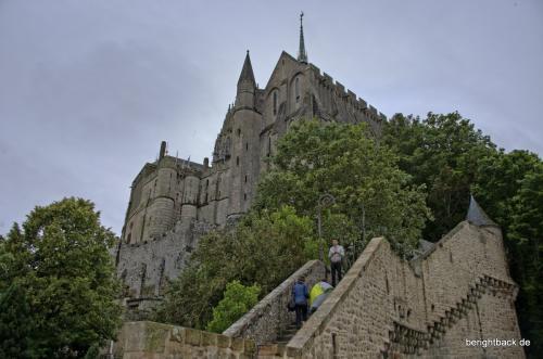 Mont St Michel Stufen