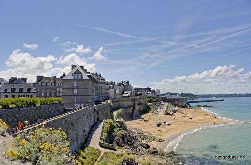 Bretagne Saint Malo Badestrand