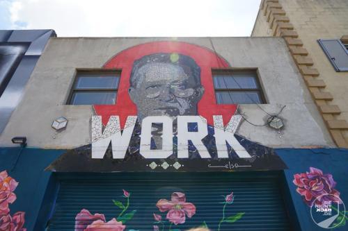 Bushwick Collective - Work Art Balance