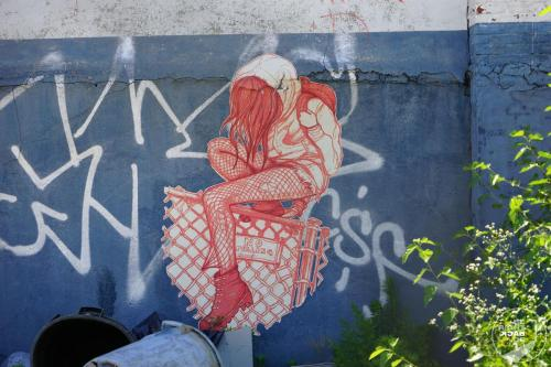 Bushwick Collective - Wild At Heart