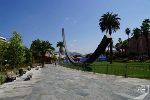 Kunst im Park von Nizza