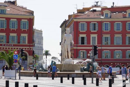 Fontaine du Soleile in Nizza