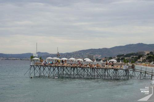 Privatstrand Cannes