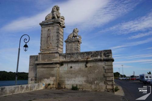 Arles Brückenruine