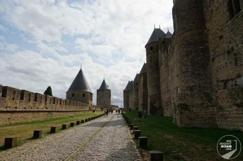 Carcasonne Burgmauer