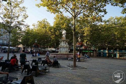 Carcasonne Marktplatz