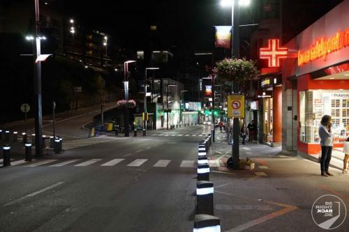 Andorra bei Nacht