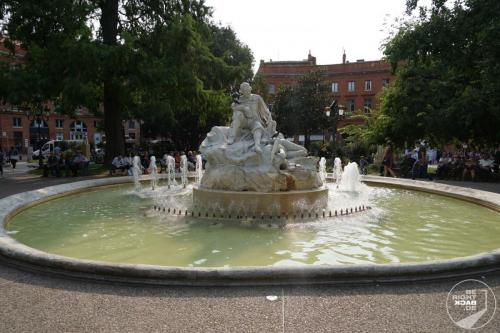 Toulouse Brunnen