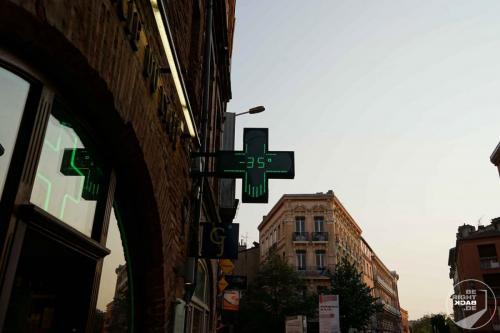 Toulouse Hitze