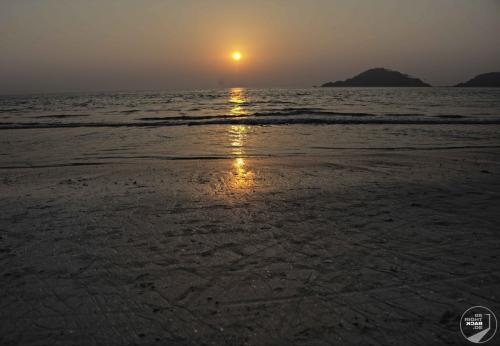 Goa Sonnenuntergang am Strand