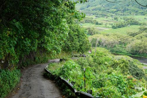 Eine wilde Straße ins Waipi'o Valley
