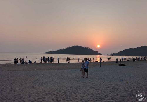 Goa Sonnenuntergang
