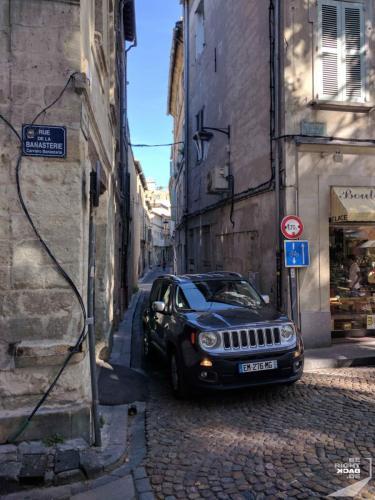 Enge Straßen von Avignon